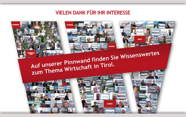 Kunde Wirtschaftsbund Tirol Aufbau der Fanseite