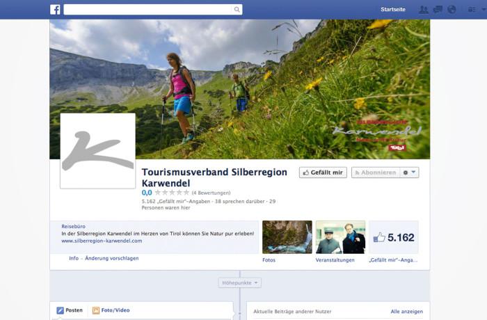 Kunde Silberregion Karwendel Social Media Beratung