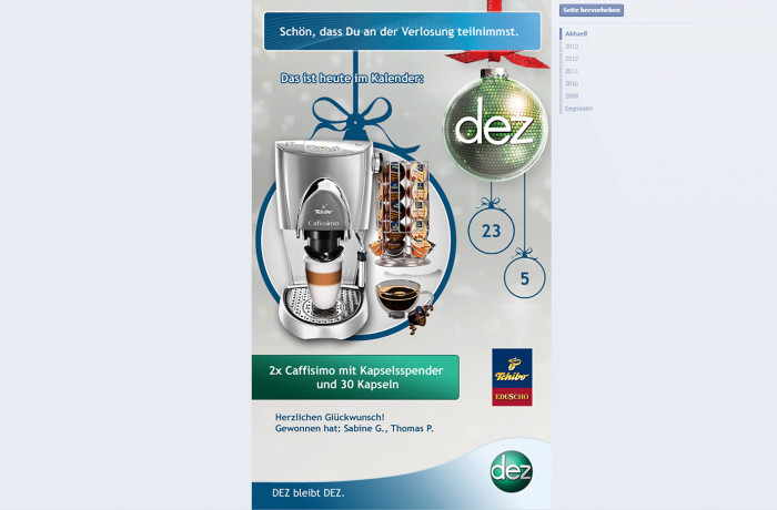 DEZ Adventkalender