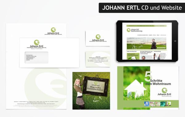 Johann Ertl – Logodesign