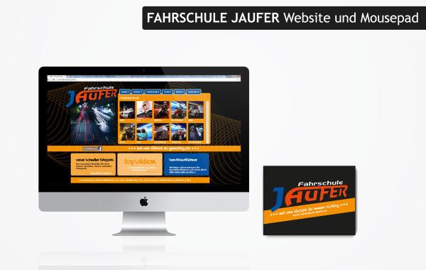Webdesign Fahrschule Jaufer
